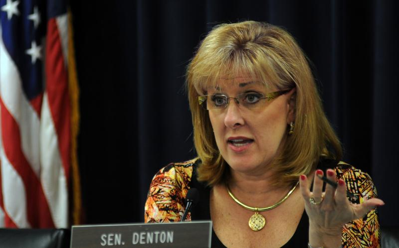Sen. Julie Denton - photo by LRC Public Information