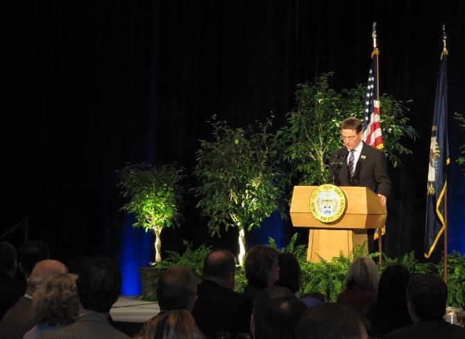 Mayor Jim Gray gave his 2013 State of the Merged Government Tuesday.