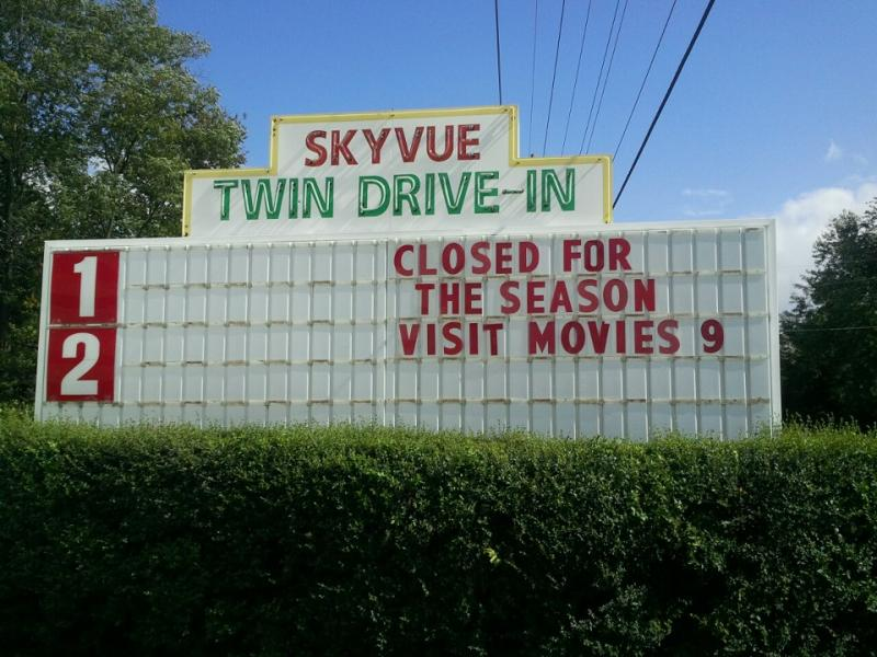 Bluegrass Theaters, which operates the Skyvue Drive-In and Winchester Movies 9, has not yet switch to digital projectors.