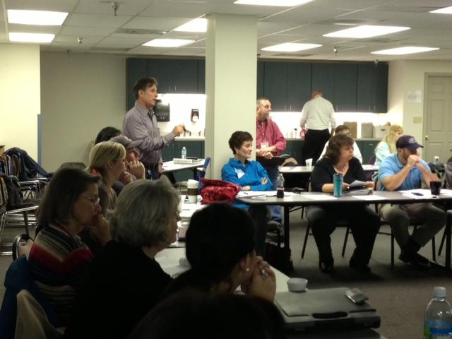 Staff at the Lexington-Fayette County Health Department participated in an emergency preparedness drill Wednesday.