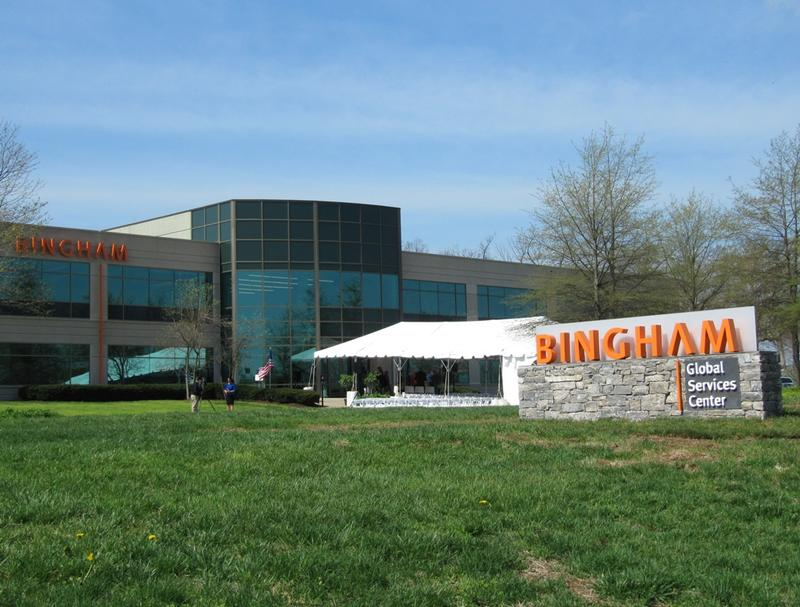 Bingham's Global Services Center is located at the UK Coldstream Research Park