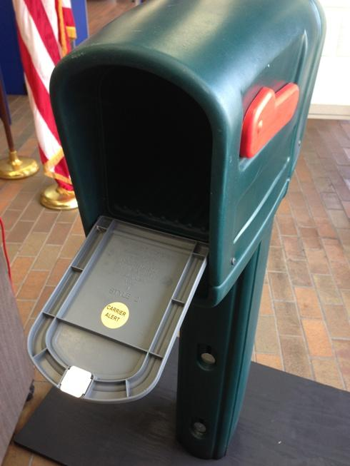 Residents who sign up for the Carrier Alert program will get a special sticker placed inside their mailbox.