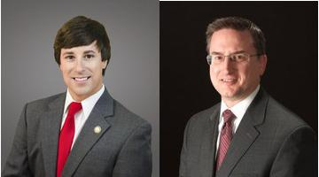 Democrat James Kay (left) and Republican Lyen Crews are running for the Ky. 56th District