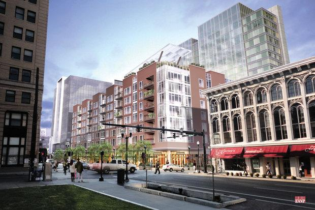 The CentrePointe project from Vine and Upper.