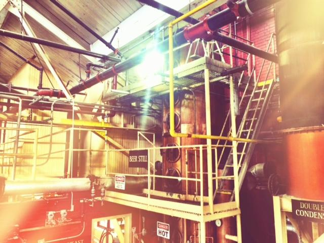 Behind the scenes tour of Four Roses Distillery