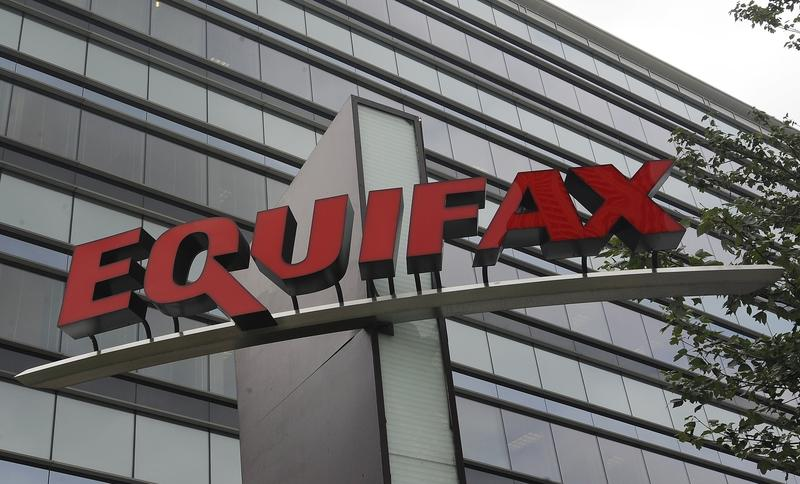 This Saturday, July 21, 2012, photo shows signage at the corporate headquarters of Equifax Inc.
