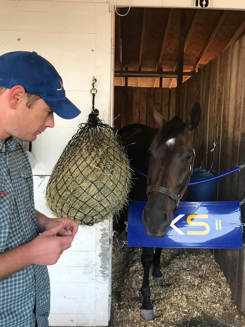 Trainer Kent Sweezey will have several horses running this fall at Keeneland