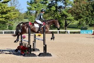 Monique Archer competing recently at the Kentucky Horse Park