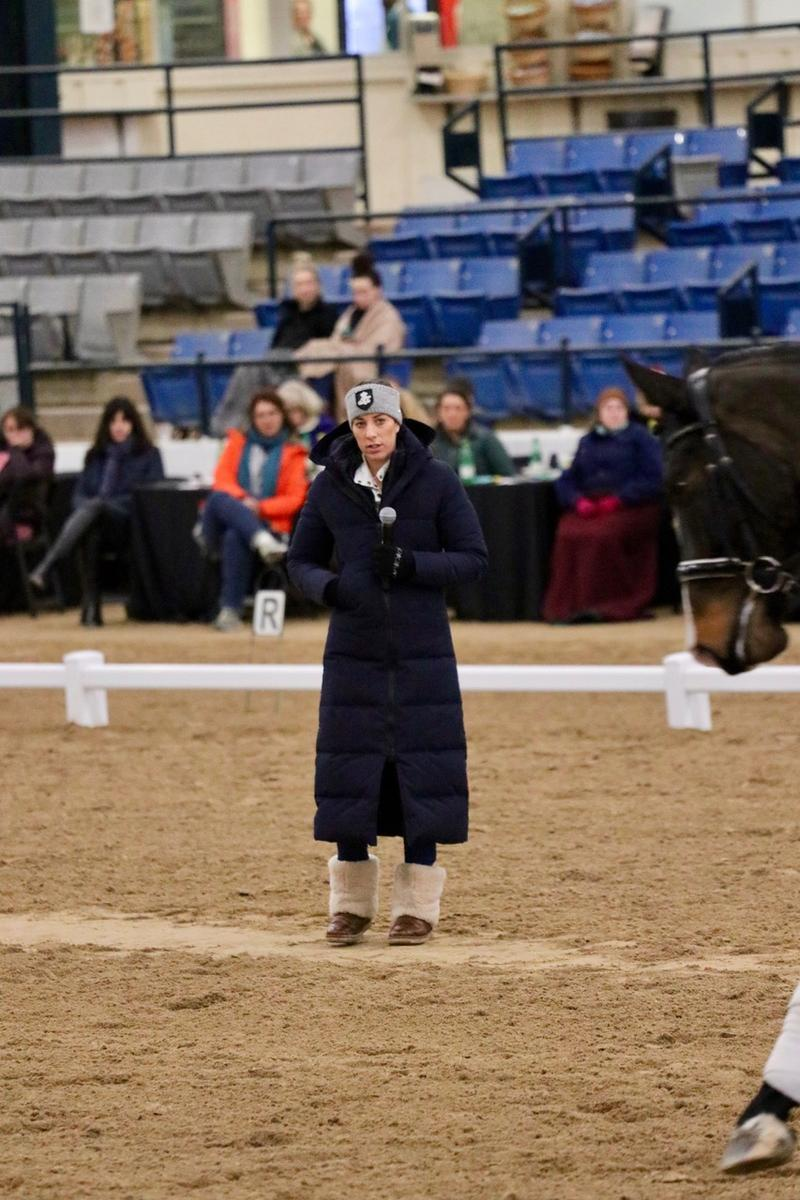 Charlotte Dujardin recently conducted a dressage clinic at the Kentucky Horse Park
