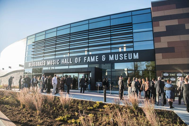 The Bluegrass Music Hall of Fame and Museum opened in October in Owensboro, KY