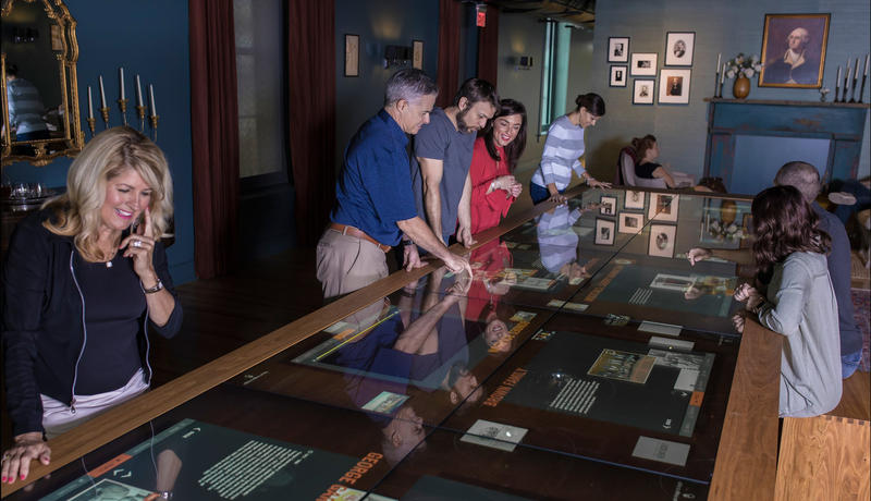 Visitors to the Frazier Museum can hear oral history interviews from important past and present figures in Kentucky's bourbon industry