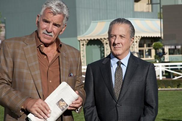 Dennis Farina, Dustin Hoffman in 'Luck.'  - Photo by Gusmano Cesaretti/HBO