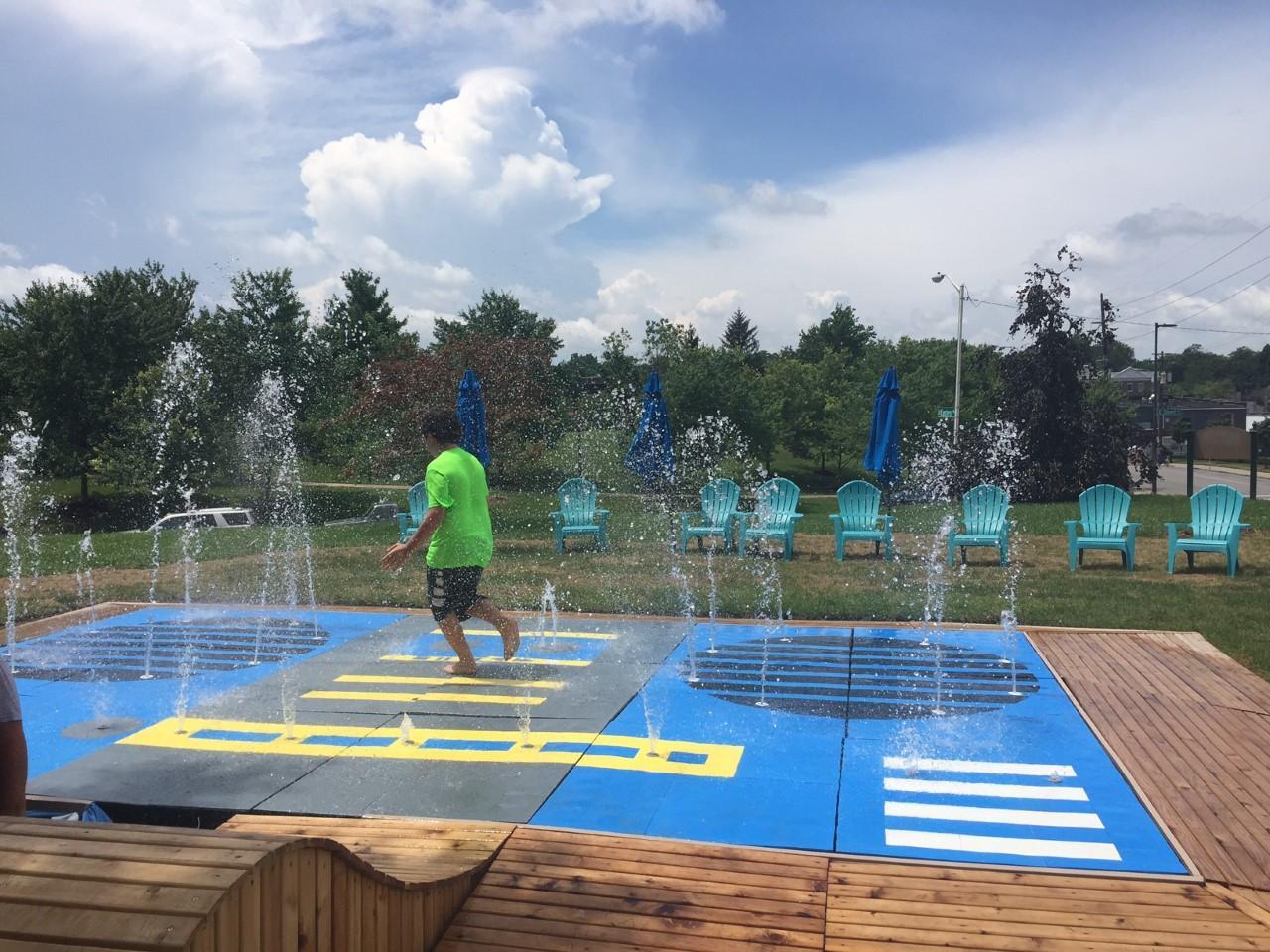 New Splash Pad Installed In Thoroughbred Park