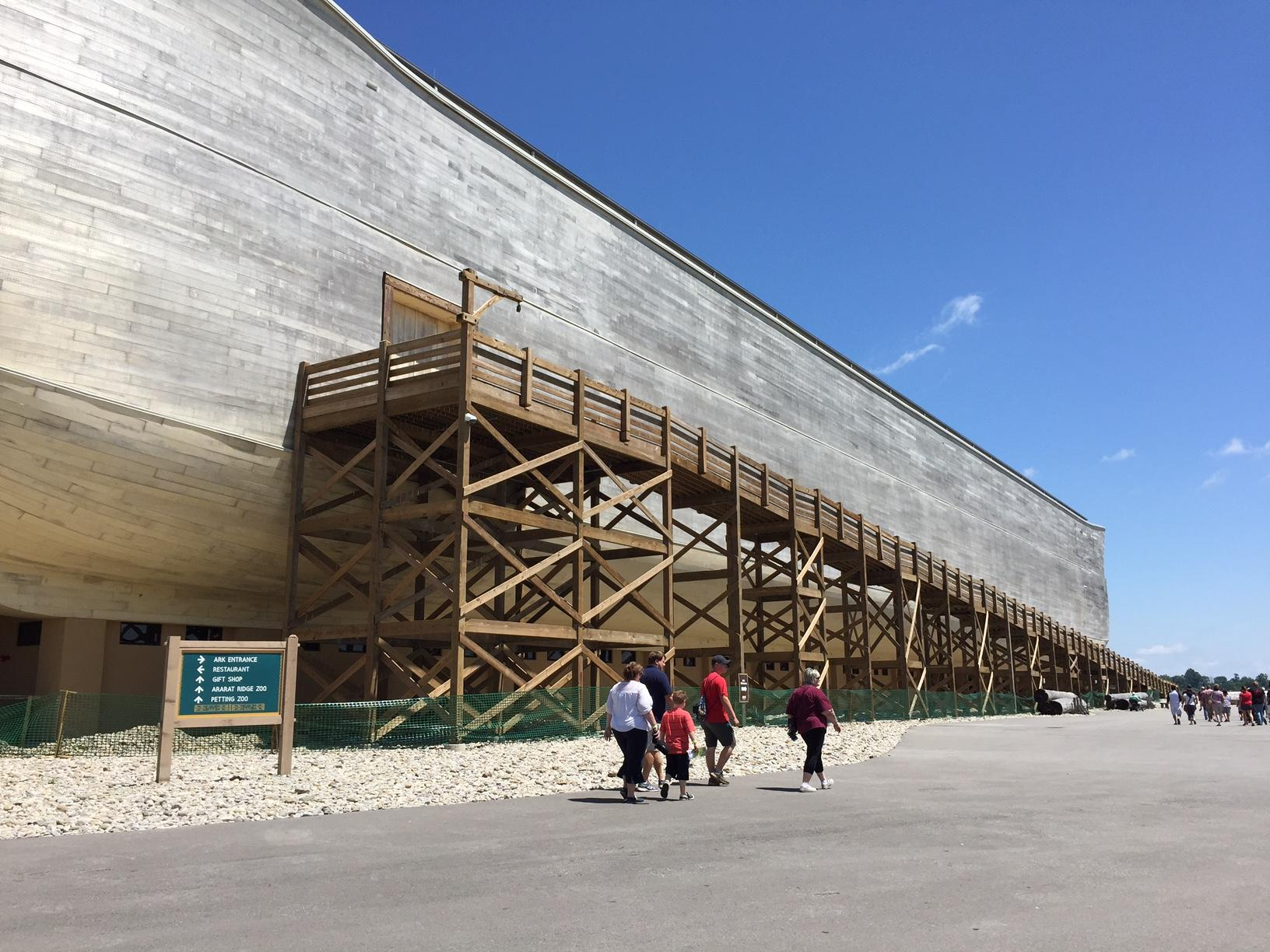 Ky. Tourism Cabinet: Ark Encounter In Breach Of State Tax Rebate ...