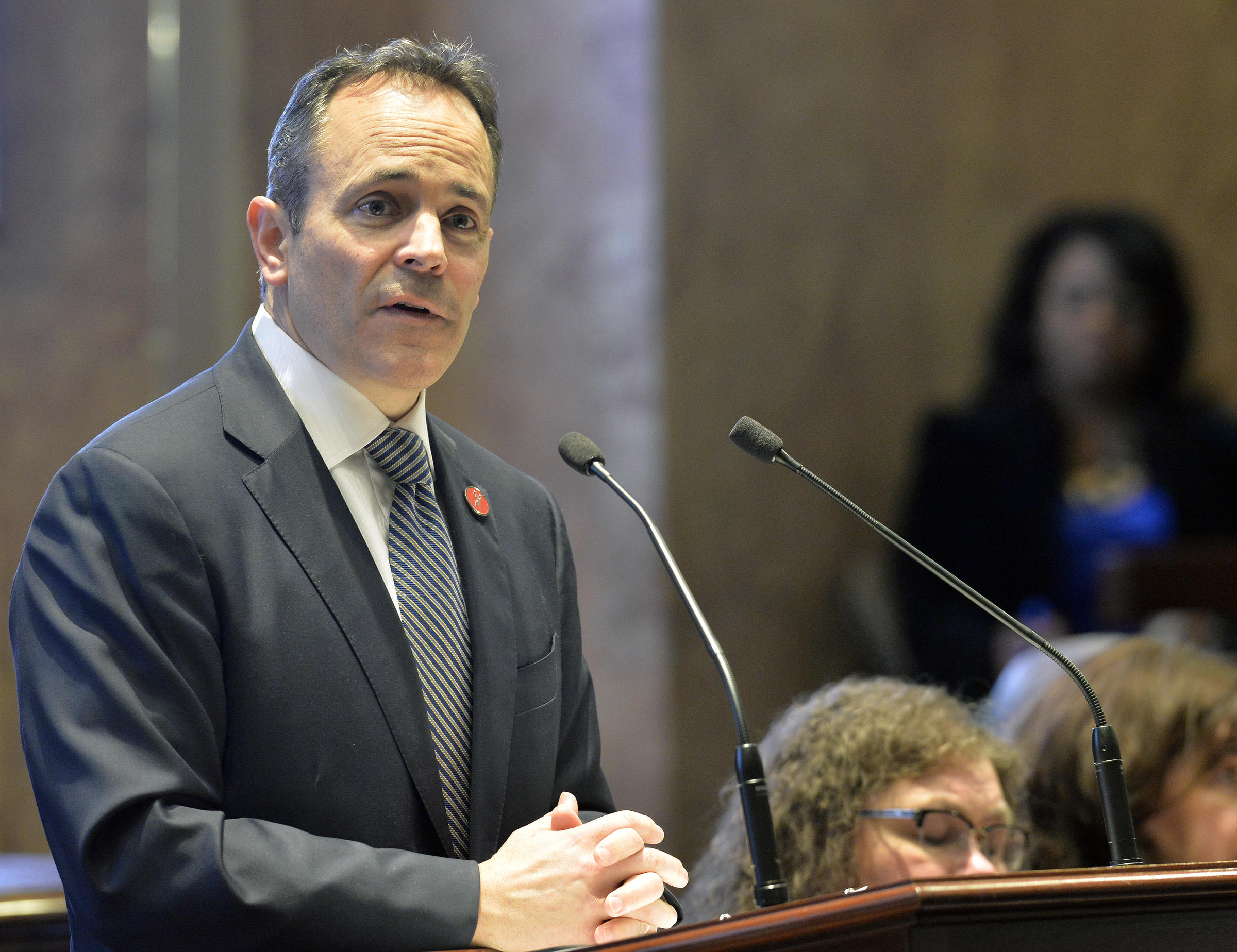 Kentucky governor countersues those who oppose Medicaid work requirements