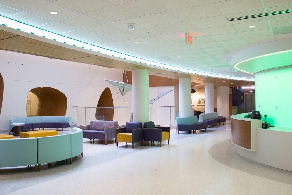 Uk Healthcare Opens New Kentucky Childrens Hospital Lobby