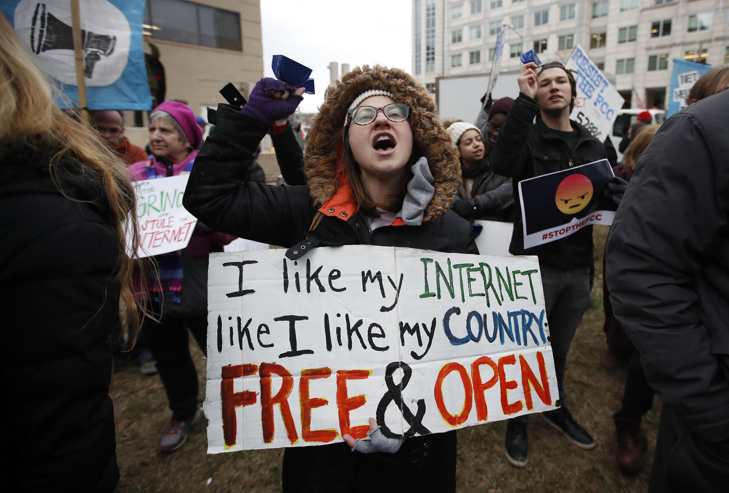 The US Senate just voted to save net neutrality
