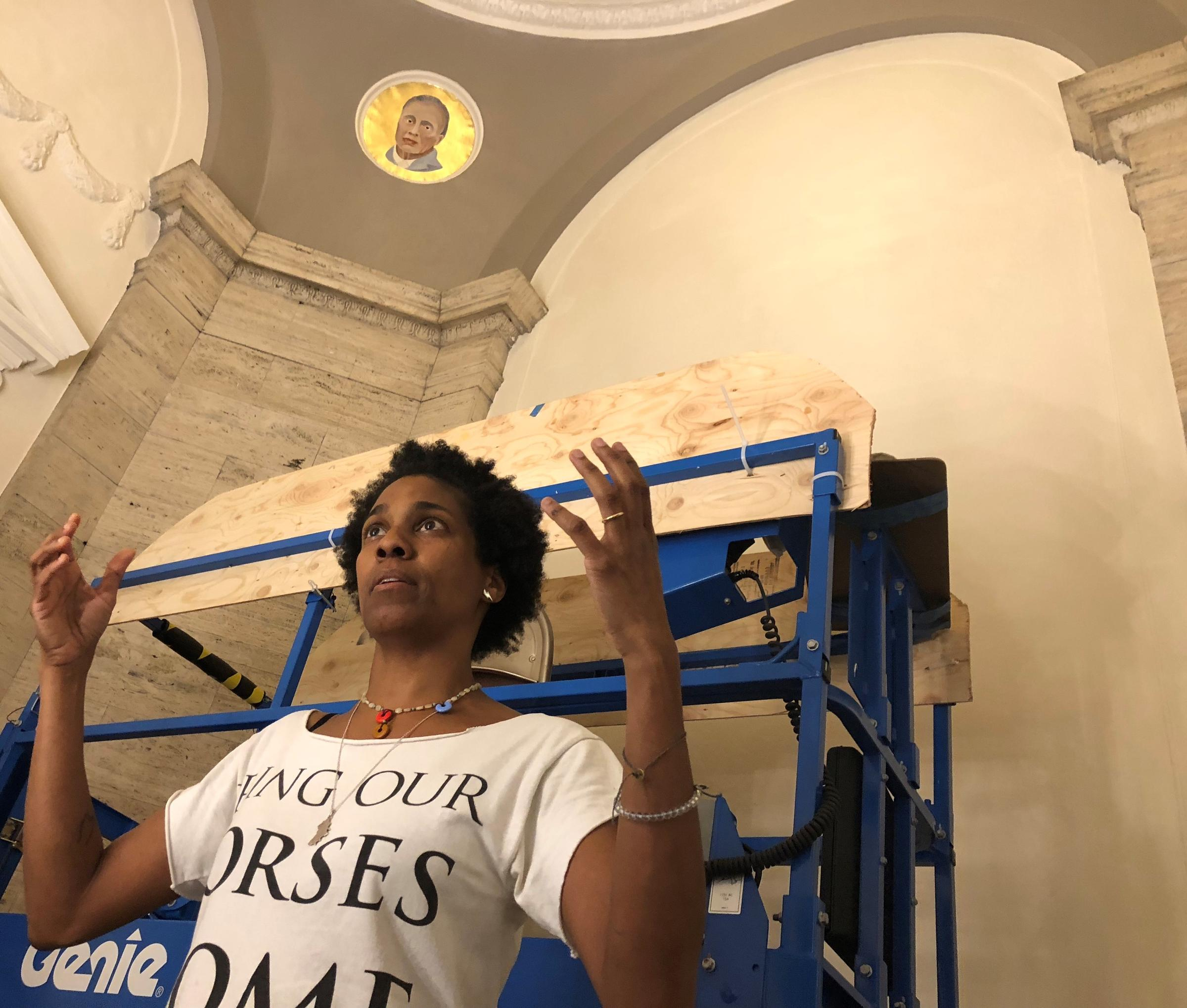 Memorial Hall Artist Karyn Olivier Isnt After Resolution She Wants
