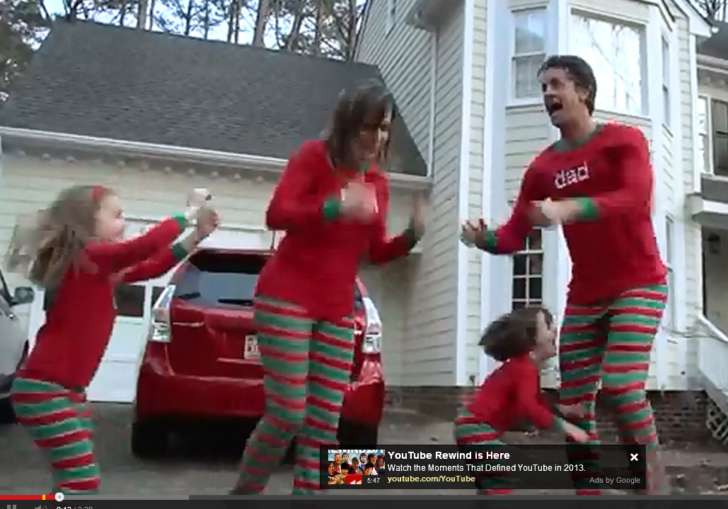 Raleigh Viral Video: \'Xmas Jammies\' Close To 11 Million Youtube ...