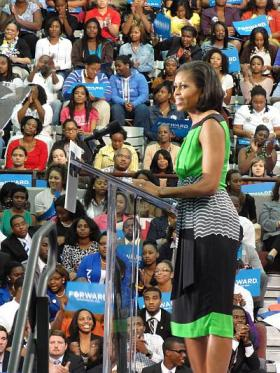 Michelle Obama at NC Central