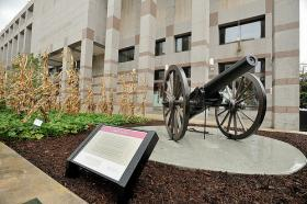 Blakely Cannon at NC Museum of History