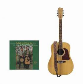 Doc Watson's Gallagher Guitar and album recording using it.