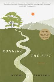 Book cover ''Running the Rift''