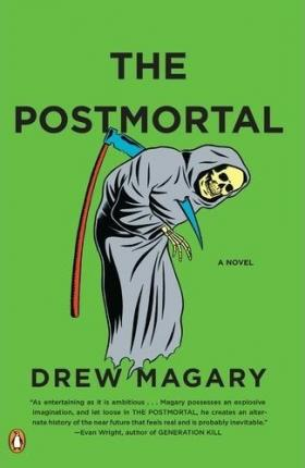 Drew Margary's novel, ''The Postmortal''