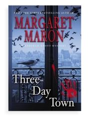 Book cover, ''Three-Day Town''