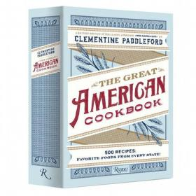 Book cover, ''The Great American Cookbook'' by Clementine Paddleford