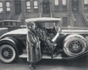 ''Couple in Raccoon Coats'' (1932); James VanDerZee