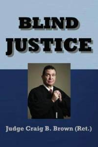 Book cover, ''Blind Justice''