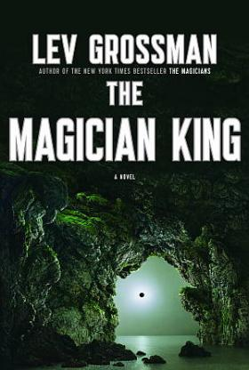 Book cover, ''The Magician King''