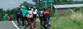 Biking the underground railroad