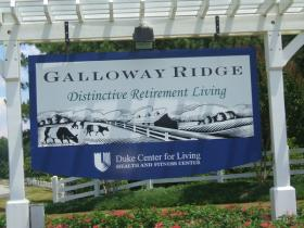 Galloway Ridge retirement facility is undergoing a $102 million dollar expansion.