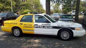 Durham Police Department vehicle