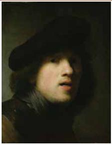 ''Self-portrait'' by Rembrandt
