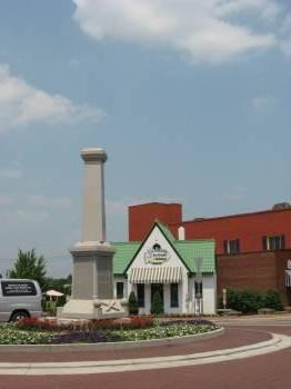 The Reidsville monument... without the statue. 