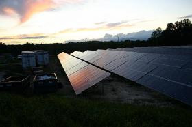 Mayberry Solar Farm in Mt. Airy