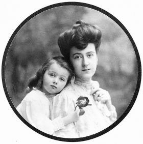 Edith and Cornelia portrait