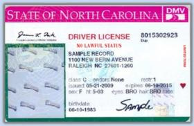 North Carolina driver's license