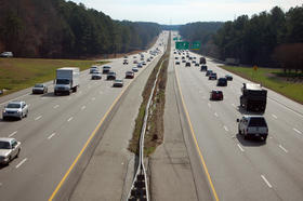 Interstate 40 traffic