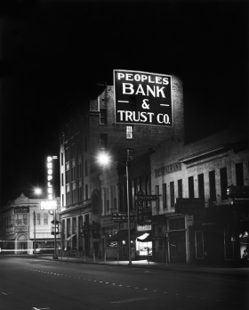 Peoples Bank and Trust opened in Rocky Mount during the Great Depression.