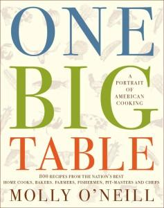 'One Big Table' by Molly O'Neill