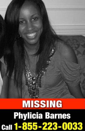 Missing Monroe, NC teenager Phylicia Barnes