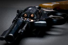 Six cylinder revolver