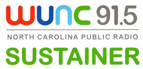 WUNC Sustainer Logo Image