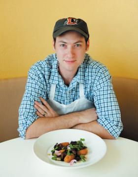 Chef Aaron Vandemark of Panciuto