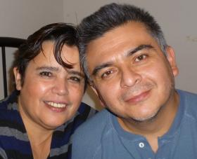 Phot of Carlos Centeno and his partner.