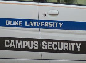 campus police vehicle